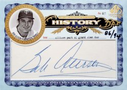 2006 Upper Deck SP Legendary Cuts Bob Allison A Place In History