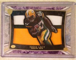 2013 Topps Supreme Eddie Lacy Rookie Die-Cut Relic Patch