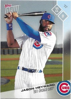 2017 Cubs Topps Now Road To Opening Day Heyward