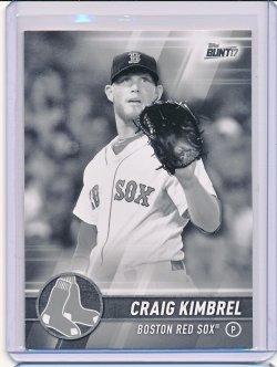 Craig Kimbrel 2017 Topps Bunt Black