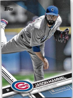2017 Topps Fathers Day Blue Hammel