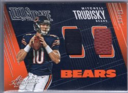 2018 Panini Absolute Mitchell Trubisky Tools of the Trade Double