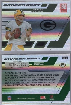 2004 Donruss Elite Brett Favre