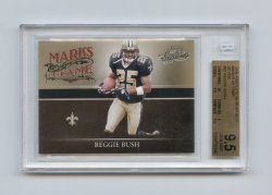 2006 Absolute Memorabilia Marks of Fame Silver #31 Reggie Bush/250 BGS 9.5 (POP 1) As of 8 MAR 2021
