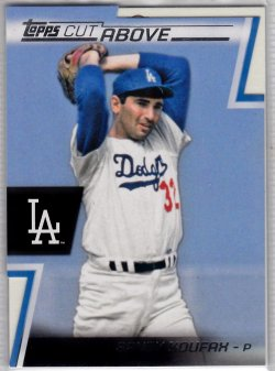 2012 Topps A Cut Above  Sandy Koufax
