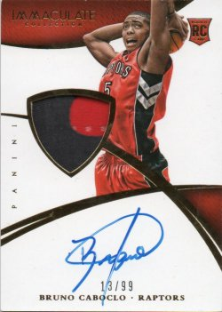 2014-15 Panini Immaculate Collection Coboclo, Bruno