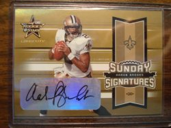 Aaron Brooks 2005 Leaf R&S Longevity Sunday Signatures Gold Autograph /50