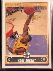2006-07 Topps Topps #8 Kobe Bryant