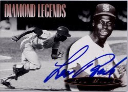 1994 Upper Deck All Time Heroes Lou Brock IP Auto