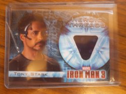 2013  Marvel - Iron Man 3 Memorabilia Tony Stark