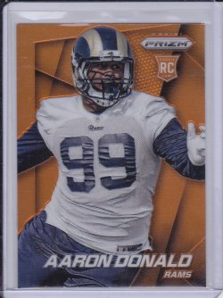 Aaron Donald 2014 Panini Prizm Prizms Orange RC