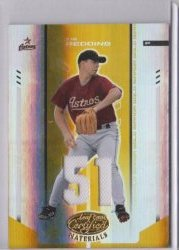 2004 Leaf Certified Materials Tim Redding Mirror Gold GUJ