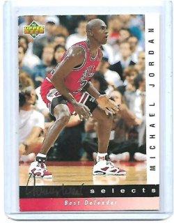 1992-93 Upper Deck Jerry West selects Michael Jordan