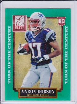 Aaron Dobson 2013 Elite Turn of the Century RC /199