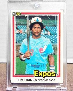 1981 Donruss  Tim Raines