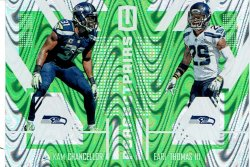 2017  Panini Unparalleled Perfect Pairs Green Kam Chancellor/Earl Thomas