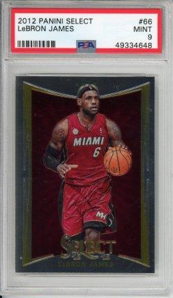 2012-13 Panini Select LeBron James