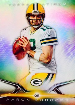 2014 Topps Platinum Aaron Rodgers #43