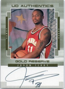 1999-00 Upper Deck Gold Reserve Terry, Jason - UD Authentics