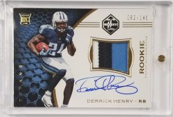 2016 Limited Rookie Patch Auto