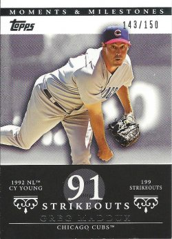 2007 Topps Moments and Milestones 13-91