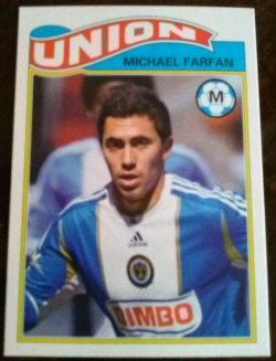 2013 Topps 1978 English Footballer Set Michael Farfan