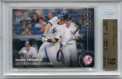 2016 Topps NOW Mark Teixeira