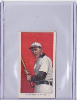 1909  T206 Piedmont 350 Fred Snodgrass