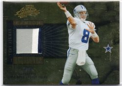 2005 Playoff Absolute Memorabilia Troy Aikman Canton Absolutes Patch
