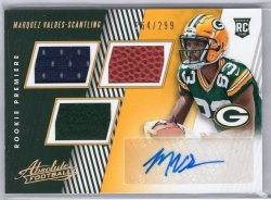 2018 Panini Absolute Marquez Valdes-Scantling