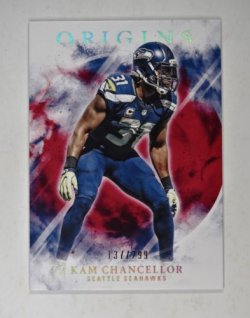 2017 Panini Origins Red Kam Chancellor