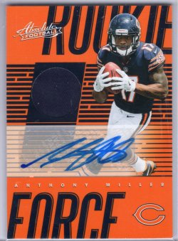 2018 Panini Absolute Anthony Miller Rookie Force Signatures