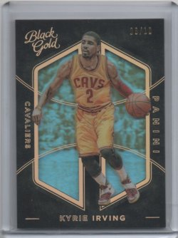 2015 Panini Black Gold Kyrie Irving Gold
