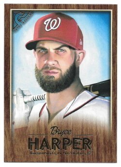 2018 Topps Topps Gallery Canvas Bryce Harper