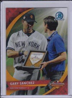 Gary Sanchez 2016 Bowman Chrome AFL Fall Stars SP /250