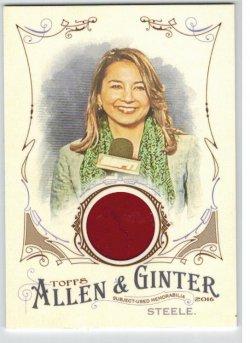 2016 Topps Allen & Ginter Relic (Full Size) Michelle Steele