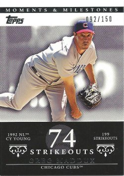 2007 Topps Moments and Milestones 13-74