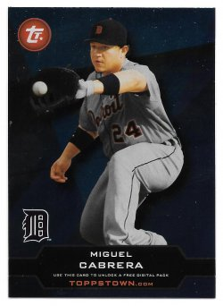 2011 Topps Topps Town Miguel Cabrera