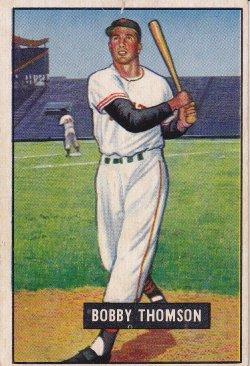 1951 Bowman  Bobby Thomson