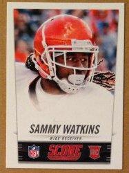 2014 Panini Score NFL Draft Promo #5 Sammy Watkins RC