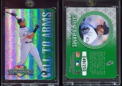 1998  Donruss Crusade Green Frank Thomas