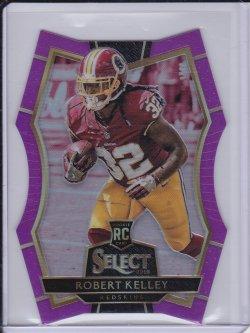Rob Kelley 2016 Select Prizm Purple RC /75