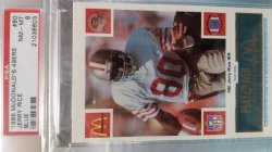 1986  McDonalds  Jerry Rice - - Blue