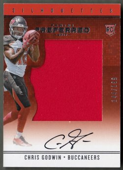 2017 Panini Preferred Chris Godwin