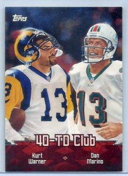2000 Topps Combos Kurt Warner/Dan Marino