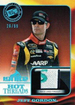 2013 Press Pass Ignite Racing Jeff Gordon