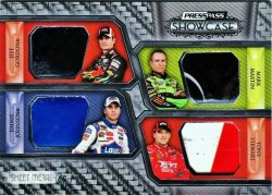 2010 Press Pass Showcase Racing Jimmie Johnson/Jeff Gordon/Mark Martin/Tony Stewart