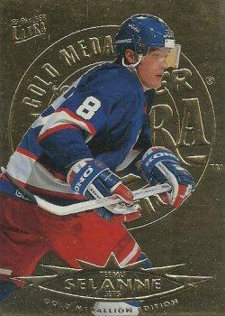 1995/96 Fleer Ultra Gold Medallion Selanne