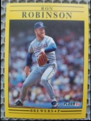 1991 Fleer  Ron Robinson
