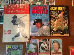 Mickey Mantle Books I Have 3/22/2018